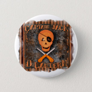 Halloween Pirate Button