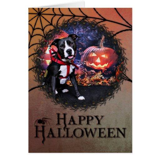 Halloween - Pitbull - Loki Cards