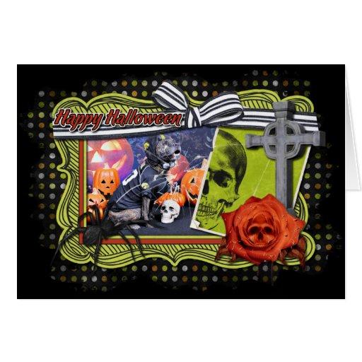 Halloween - Pitbull - Marley Cards