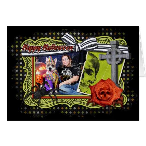 Halloween - Pitbull - Tyson Card