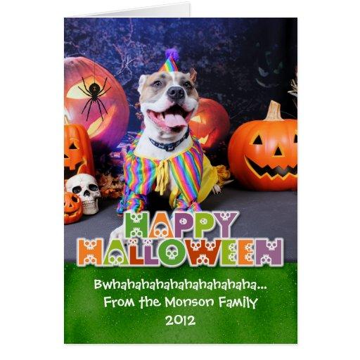 Halloween - Pitbull - Tyson Cards