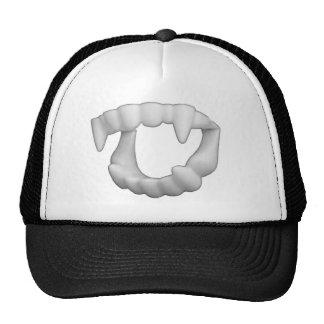Halloween Plastic Fangs Teeth Trucker Hat