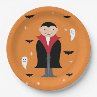 Halloween plate design