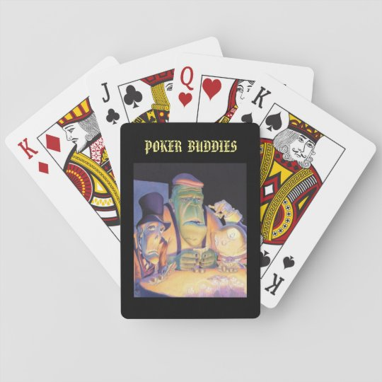 Halloween Playing Cards: Poker Buddies Playing Cards