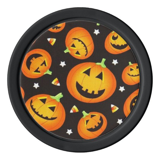 Halloween Poker Chips