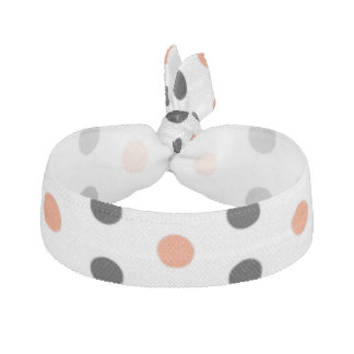 Halloween Polka Dot Pattern Hair Tie