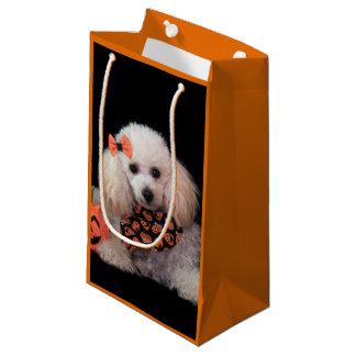 Halloween poodle dog gift bag