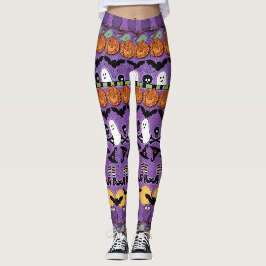 Halloween Pop Fashion Leggings