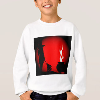 Halloween Poster Background Sweatshirt