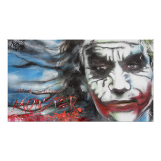 Halloween poster Joker
