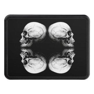 Halloween Protector Skull Round Profile Bones Trailer Hitch Cover