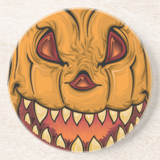 halloween pumpkin-1640482 drink coaster