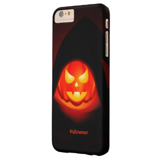 Halloween Pumpkin Barely There iPhone 6 Plus Case