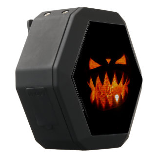 Halloween Pumpkin Black Bluetooth Speaker