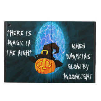 Halloween pumpkin by moonlight Ipad case