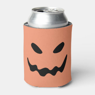 Halloween Pumpkin Can Cooler