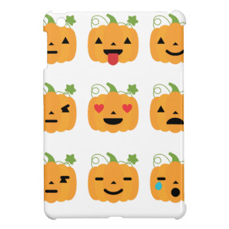 halloween pumpkin emojis cover for the iPad mini