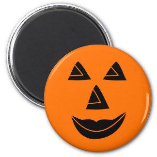 Halloween Pumpkin Face Magnet
