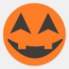 Halloween Pumpkin Face Sticker 13