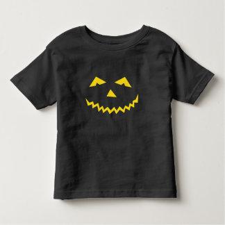 Halloween Pumpkin Face Toddler T-shirt