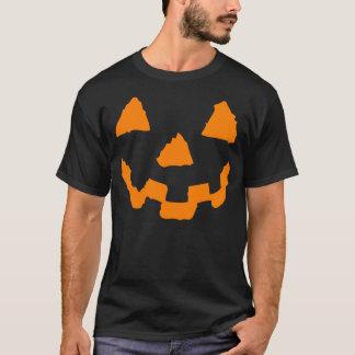 Halloween Pumpkin Face Tshirt