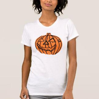Halloween Pumpkin Illustration T-shirt