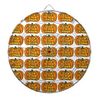 Halloween Pumpkin Jack-o -Lantern Dartboards