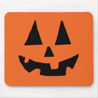 Halloween Pumpkin Jack-o-Lantern Mousepads
