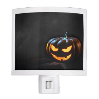 Halloween Pumpkin Jack-O-Lantern Spooky Nite Light