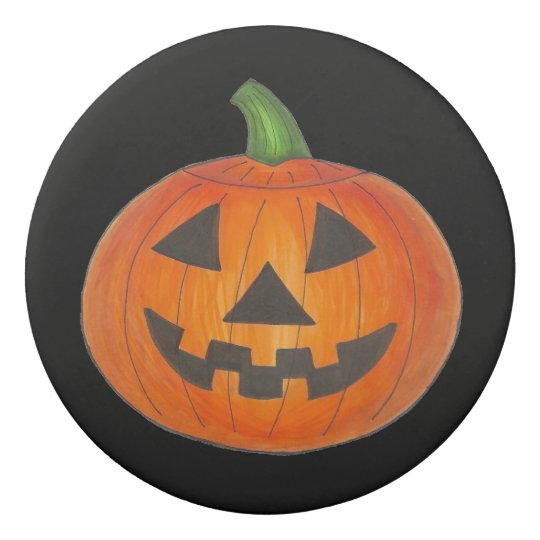 Halloween Pumpkin Jack o' Lantern Trick or Treat Eraser