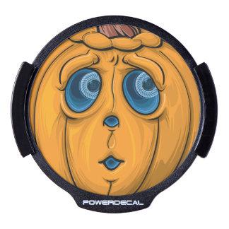 Halloween Pumpkin LED Auto Decal