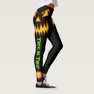 Halloween Pumpkin Leggings Women's Yoga Pants