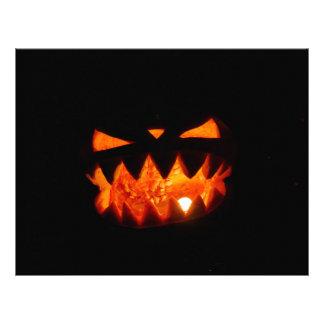 Halloween Pumpkin Letterhead