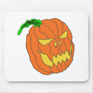 Halloween Pumpkin Mouse Pad