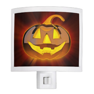 Halloween Pumpkin Night Light