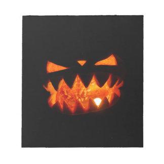 Halloween Pumpkin Notepad