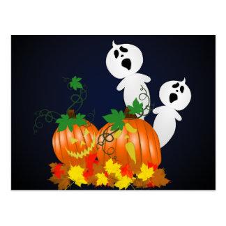 Halloween Pumpkin Patch Recipe Card Postcard