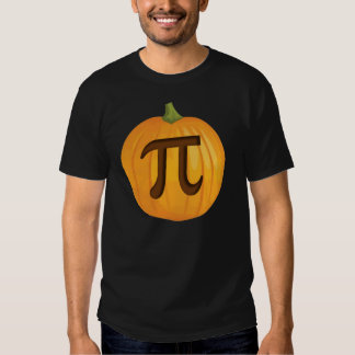 Halloween Pumpkin Pie Pi Tshirt
