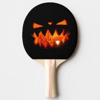 Halloween Pumpkin Ping Pong Paddle