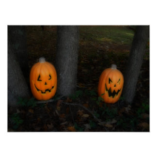 Halloween Pumpkin Poster