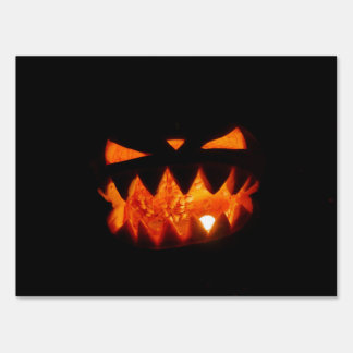 Halloween Pumpkin Sign