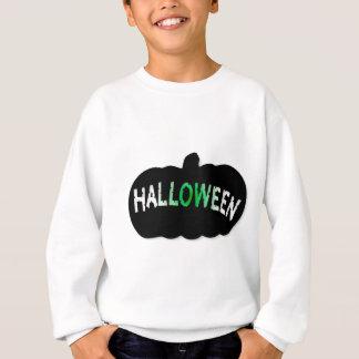 Halloween Pumpkin Silhouette Sweatshirt