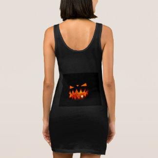 Halloween Pumpkin Sleeveless Dress