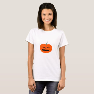 halloween pumpkin t shirt white