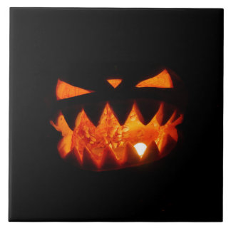 Halloween Pumpkin Tile