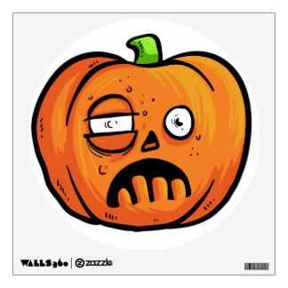 Halloween Pumpkin wall decal 1