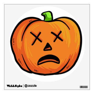 Halloween Pumpkin wall decal 2