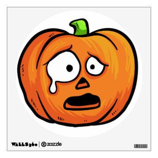 Halloween Pumpkin wall decal 3