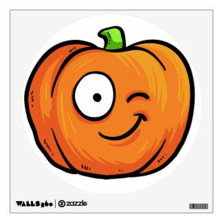 Halloween Pumpkin wall decal 4