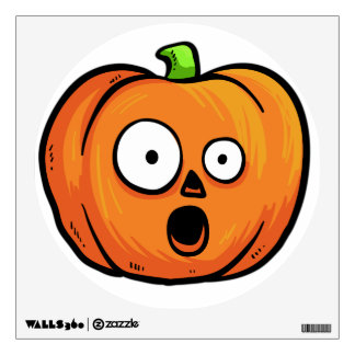 Halloween Pumpkin wall decal 5